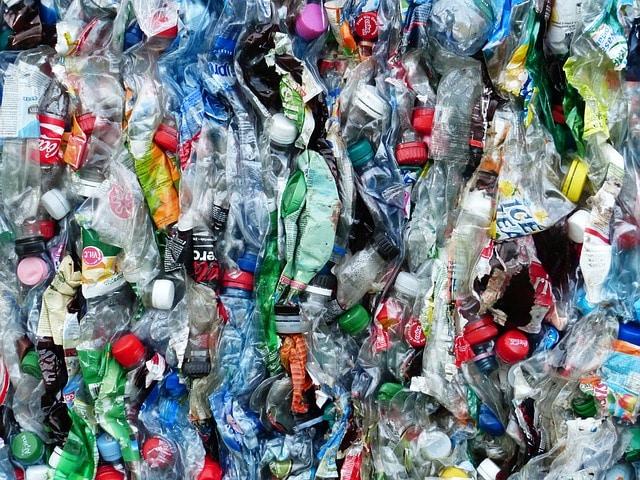 Plastic bottles on a pile - WOIMA Corporation